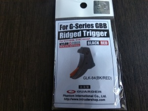 картинка Guarder Ridged Trigger For G-Series GBB (BLACK/RED) 1 111 & от магазина Одежда+
