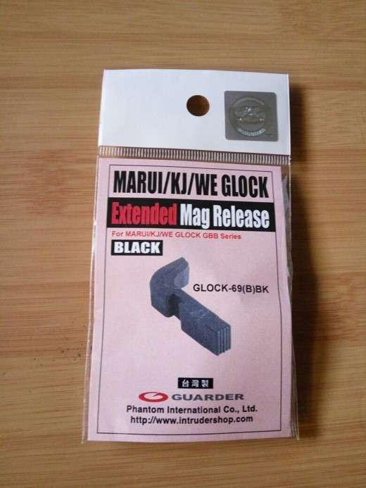 картинка Guarder Extended Magazine Release for TM/KJ GLOCK Series (Black) от магазина Одежда+